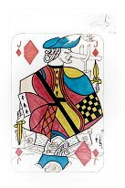 Jack of Diamonds (Original) Salvador Dali