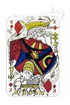 King of Diamonds (Original) Salvador Dali