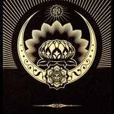 Lotus Crecent Shepard Fairey