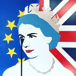 Pure Evil - QE2EU Brexit Nightmare Painting