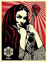 Woman Revolutionary Shepard Fairey